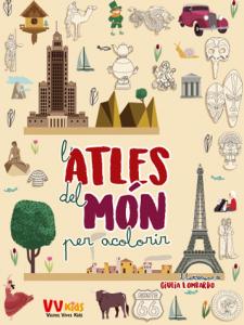L'ATLES DEL MON PER ACOLORIR