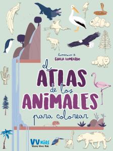 EL ATLAS DE LOS ANIMALES PARA COLOREAR