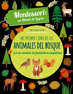 Mi primer libro de los ANIMALES DEL BOSQUE