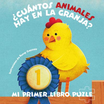 ¿CUÁNTOS ANIMALES HAY EN LA GRANJA? MI PRIMER LIBRO PUZLE